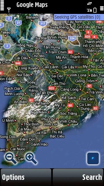 google maps, google map, phan mem google maps, google maps cho dien thoai