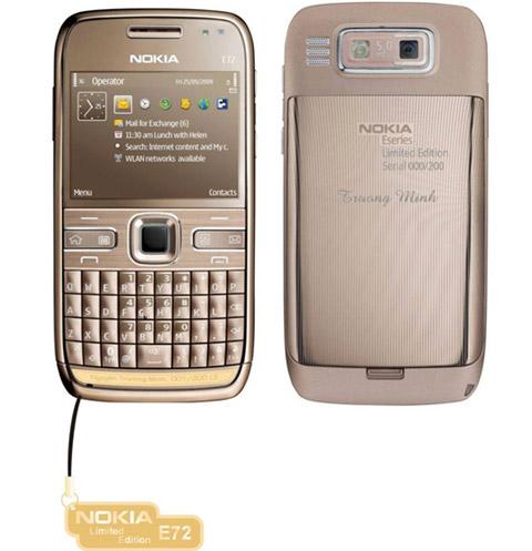 Nokia E72 dát vàng sắp bán ở Việt Nam