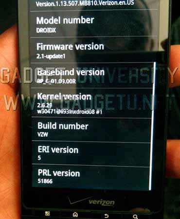 Motorola Droid phiên bản Xtreme có màn hình 4,3 inch