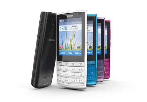 Nokia trình làng X3 'Touch and Type' giá 3 triệu