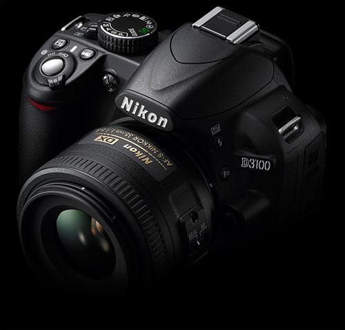 Nikon D3100 có thêm cơ chế lấy nét toàn phần AF-F trong chế độ quay phim. Ảnh: Dpreview.
