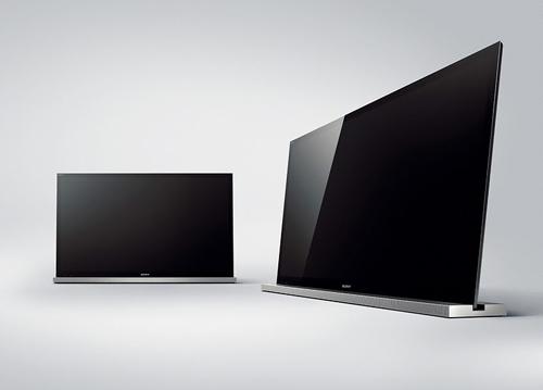 TV 3D của Sony có loa thanh 2.1 ở chân đế