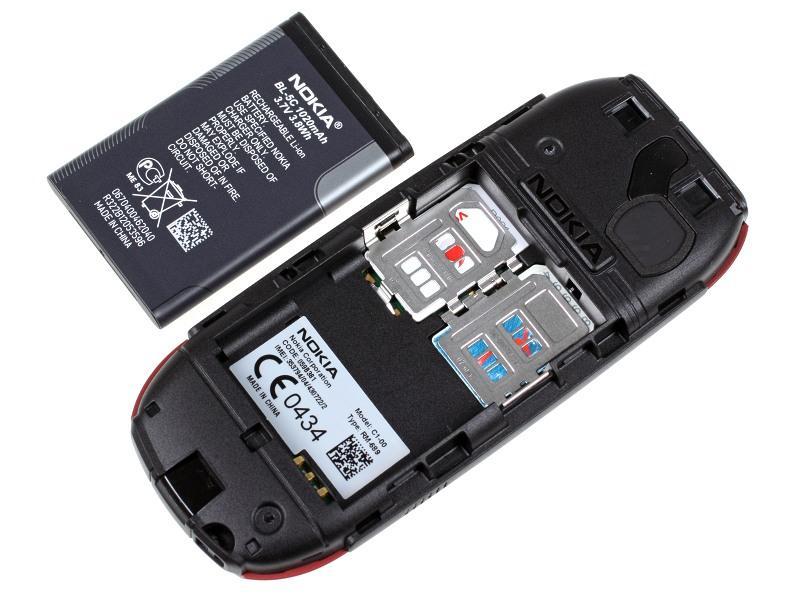 Nokia C1 00: Hai SIM nhưng chỉ một sóng