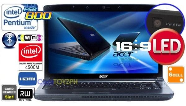 Acer Aspire 4736Z - Dòng Laptop giá cực rẻ