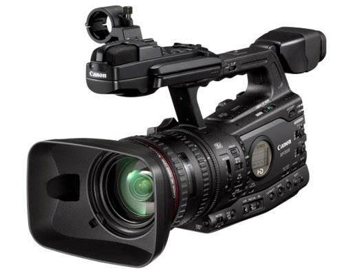 Canon ra mắt máy quay phim Full HD chuẩn nén MPEG-2