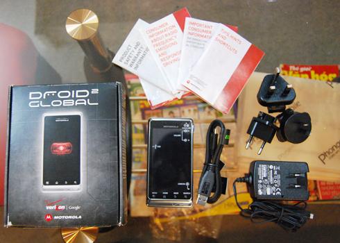 Droid 2 Global với chip điện thoại mạnh nhất thế giới về VN