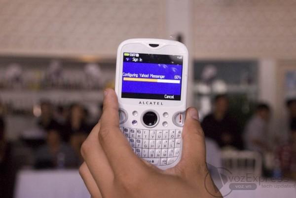 Ra mắt điện thoại ALCATEL tại Việt Nam