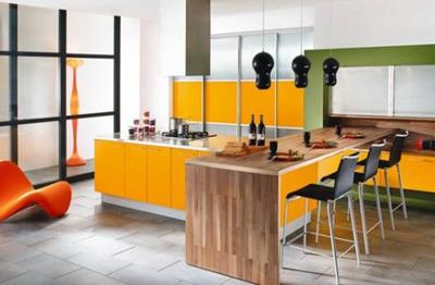 Xu hướng màu sắc bếp năm 2011