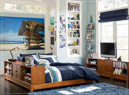 Thiết kế phòng ngủ cá tính cho bé trai
