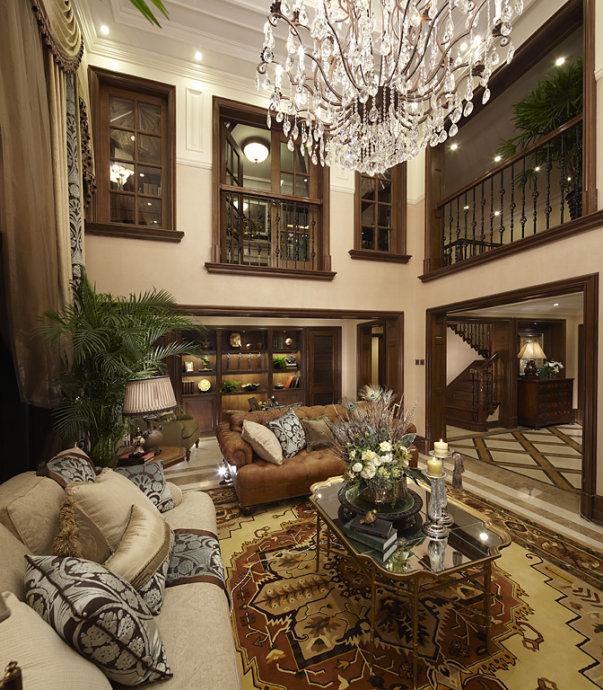Thiết kế phòng của biệt thự theo phong cách cổ điển châu Âu (P3)