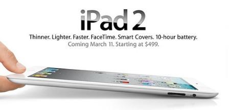 iPad 2 mỏng hơn iPhone và được bán từ tuần sau