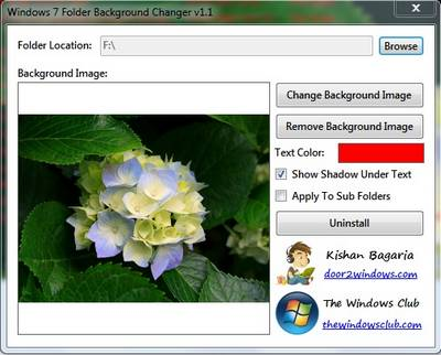 Thủ thuật sử dụng hình nền để trang trí thư mục Windows