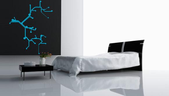 Giấy dán tường cá tính cho căn phòng của bạn