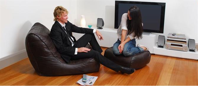 Thư giãn nhẹ nhàng với Sofa hạt xốp