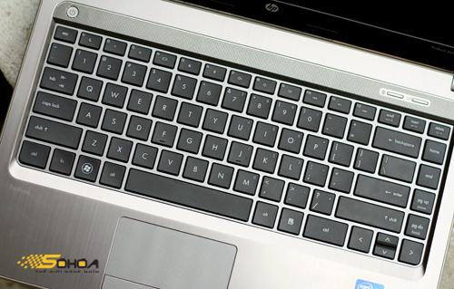 bàn phím đặc trưng của HP.