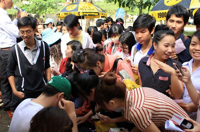Điểm dừng chân đầu tiên của Tour TGDD đến với sinh viên cả nước