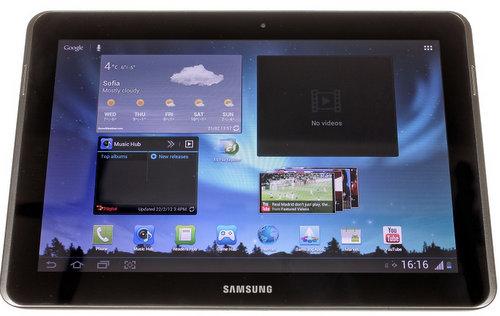Ảnh thực tế Galaxy Tab 2 10.1